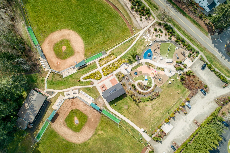 Ball Fields and Playground